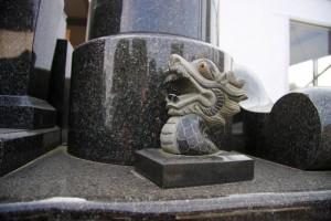 龍の置物 - 石材小物